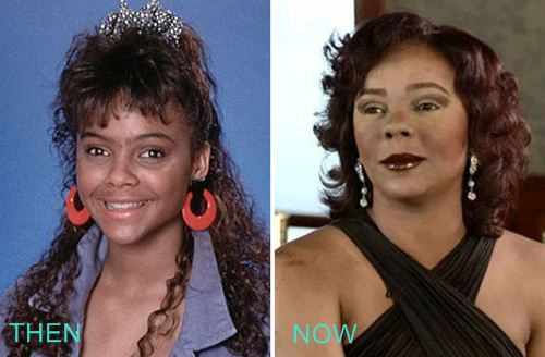 Lark Voorhies Plastics Surgery Before and After