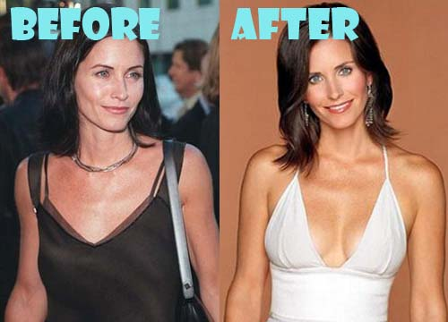 Too damn boob courteney cox You can deepthroat